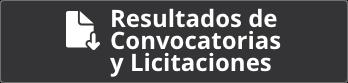 Resultados de Convocatorias y Licitaciones
